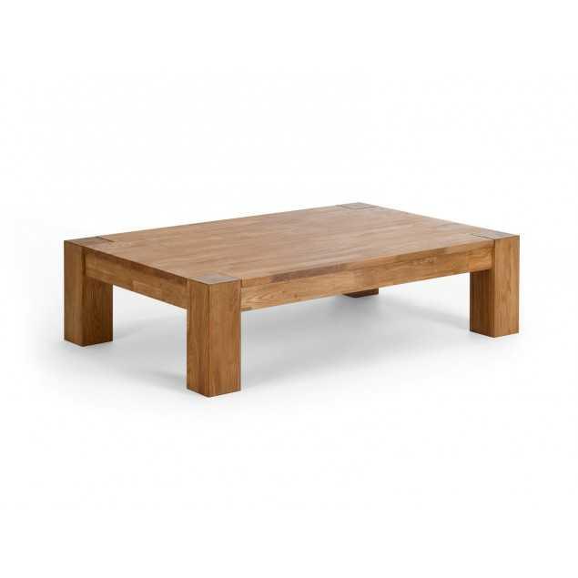 Dubový konferenční stolek 130x85 Dios