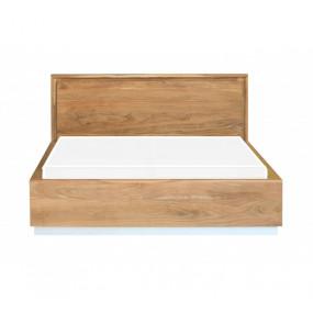 Masivní postel světlé dřevo Akácie160x200 Greenwich AKÁT