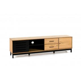 TV stolek ze dřeva...