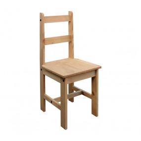 Masivní židle z borovice...