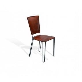 Dřevěná židle z tvrdého dřeva Neapol