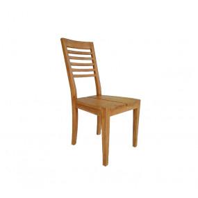Masivní židle z akátového...