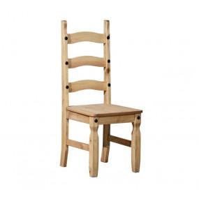 Masivní jídelní židle...