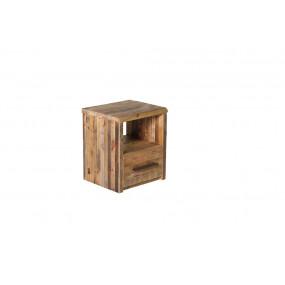 Noční stolek z recyklovaného dřeva Sacramento
