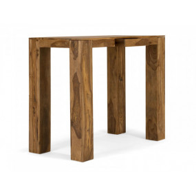 Barový stůl z masivu 135x70 Birmingham palisandr
