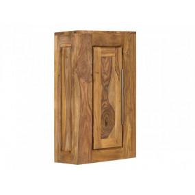 Nástěnná skříňka z masivu do koupelny