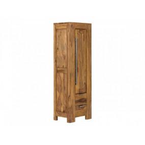 Vyšší skříň z masivu do koupelny