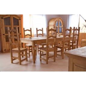 Židle z masivní borovice...