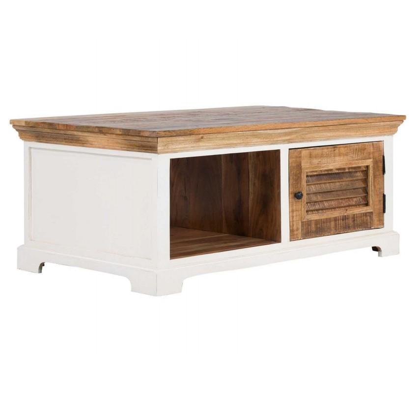 Konferenční stolek Madagaskar s úložným prostorem