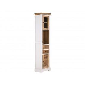 Vysoká koupelnový skříňka Madagaskar bílá