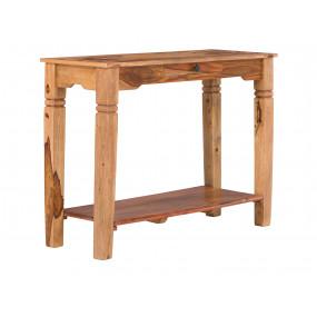 Světlý konzolový stolek...
