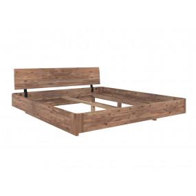 Postel z masivu Solomon akátové dřevo