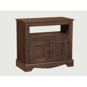 Hnědý televizní stolek z...