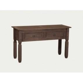 Hnědý konzolový stolek...