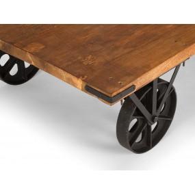 Konferenční stolek s kolečky Edgar