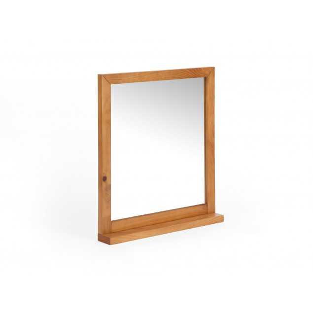Zrcadlo s masivním rámem z borovice Eufrat