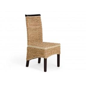 Koloniální židle z vodního hyacintu Nice