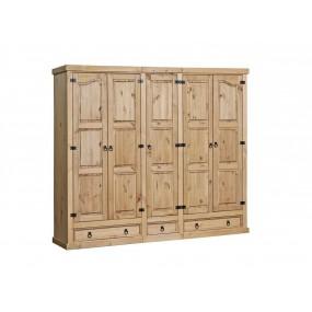 5 dveřová šatní skříň...