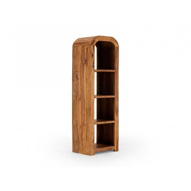 Dřevěná knihovna z palisandru Cabrera