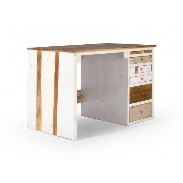 Psací stůl z exotického dřeva Charles