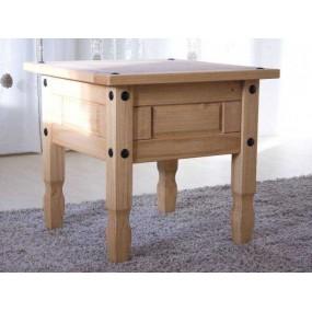 Dřevěný odkládací stolek...