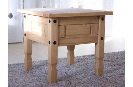 Dřevěný odkládací stolek 58x58 Mexiko